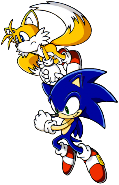 Sonic-Tails-Flying