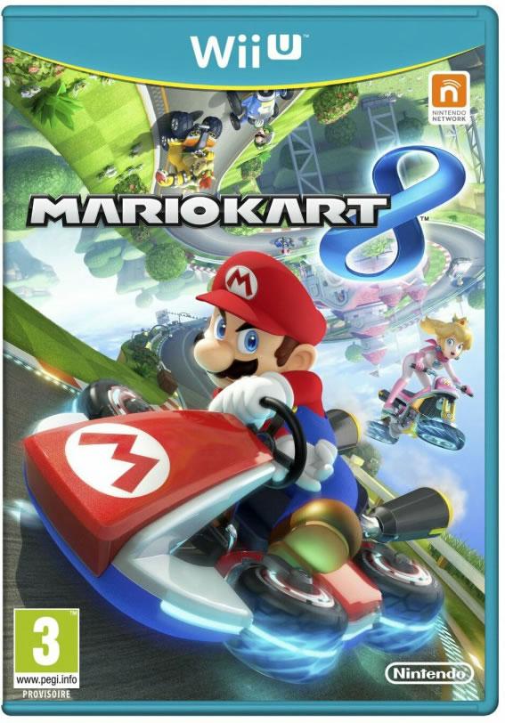 Mario kart 8 Wii U box art