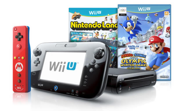 Wii U winter olympics bundle