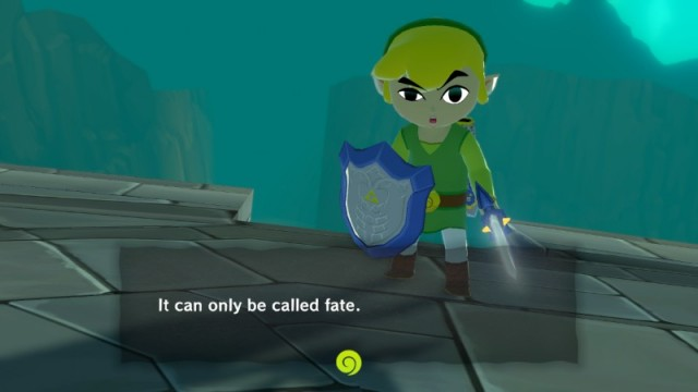 link confused at ganon