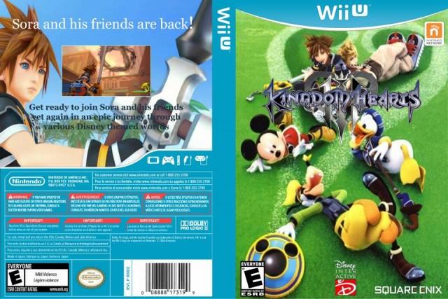 custom KH3 Wii U case