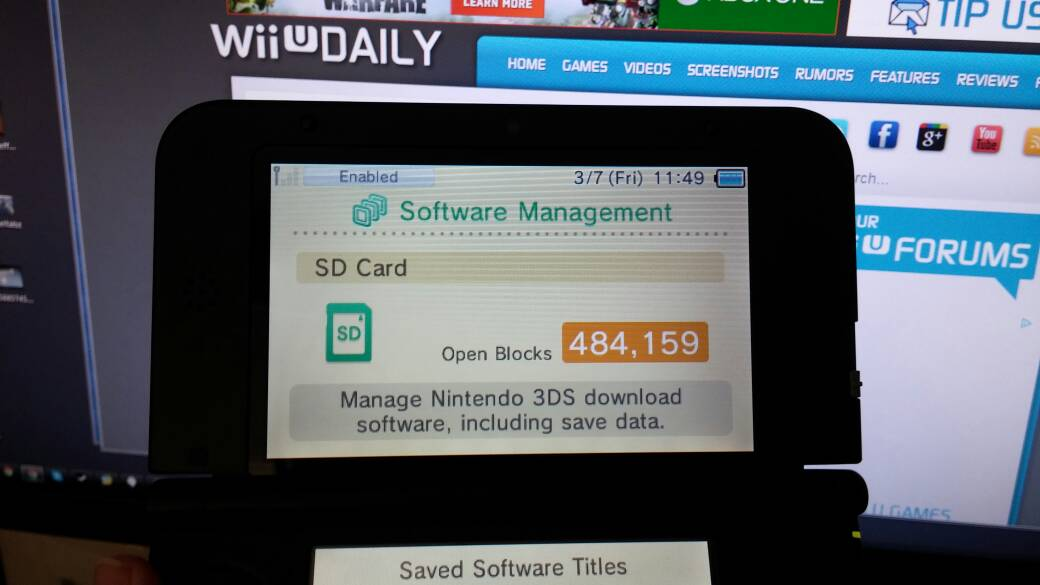 How to format a high capacity SD card for use with Nintendo 3DS ...