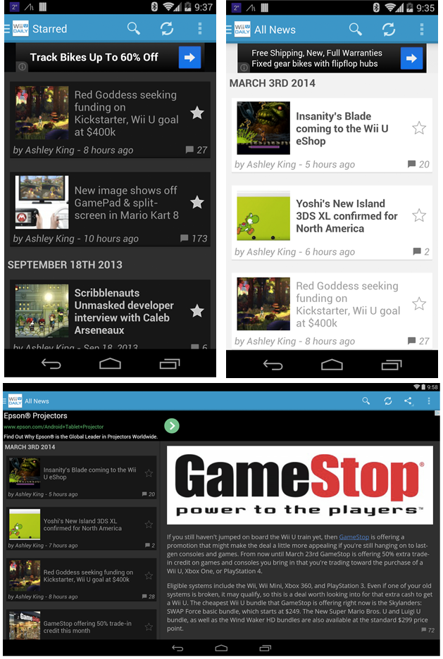 Wii U Android App