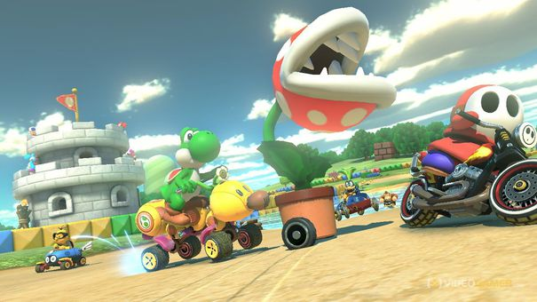 mSome more Mario Kart 8 gameplay videos