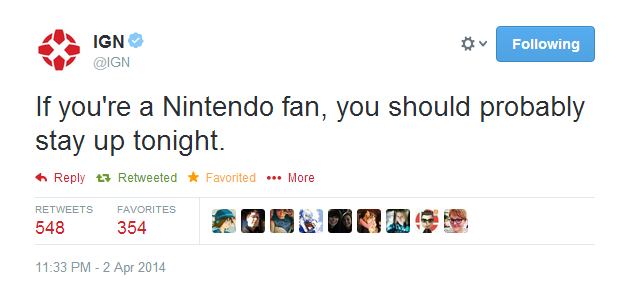 Twitter   IGN  If you re a Nintendo fan  you ...