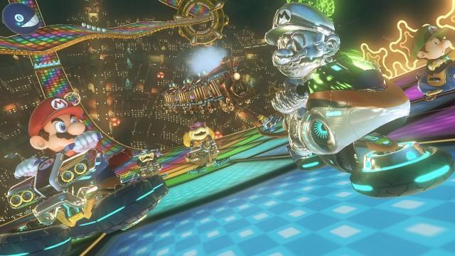 Mario Kart 8 Metal Mario