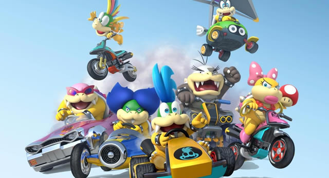 Mario Kart 8 includes unlockable gear, private online lobbies, more