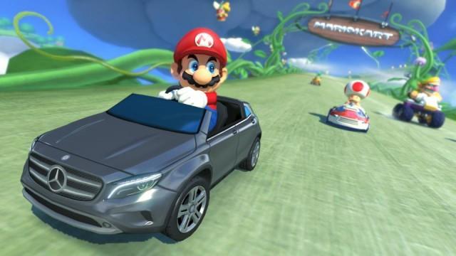 Mario Kart Mercedes-Benz DLC