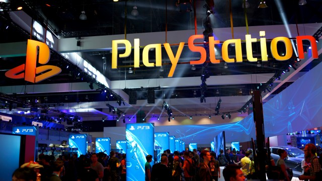 sony e3 booth