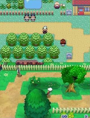 Pokemon Ruby Sapphire comparison 32