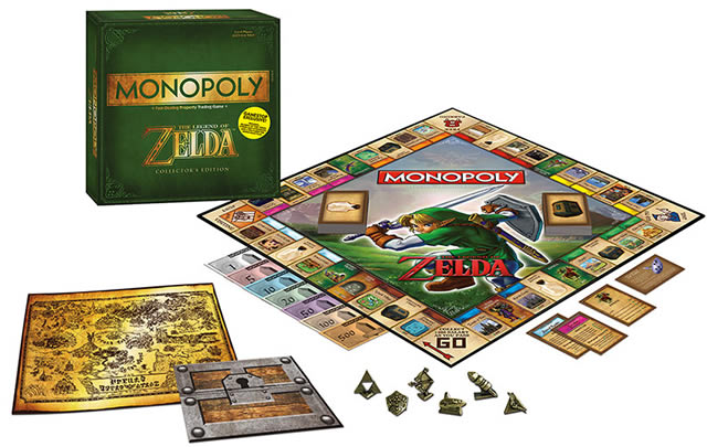Zelda-themed Monopoly game coming