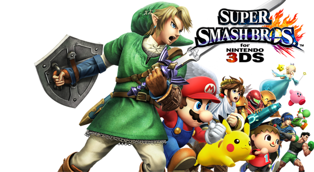 Smash bros 3ds title