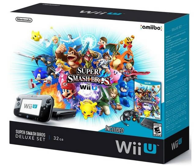 Nintendo to release a super smash bros wii u bundle - How much is a super nintendo console worth ...