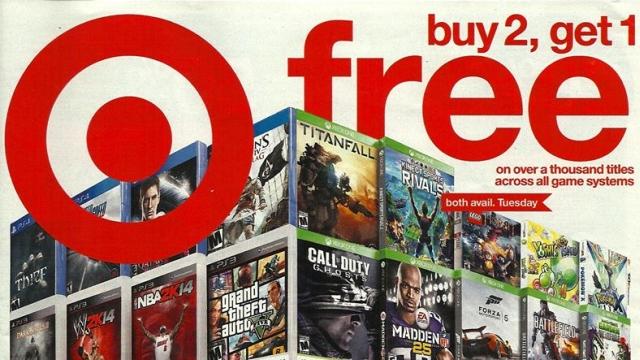 best buy buy two games get one free