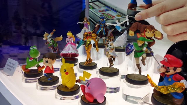 amiibo-on-display