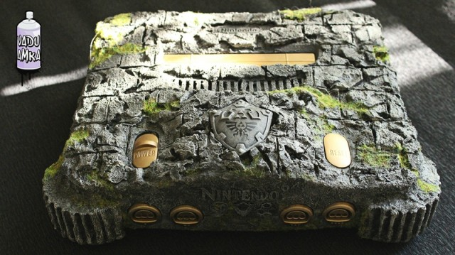 Custom Zelda Nintendo 64 console is an art piece - NintendoToday