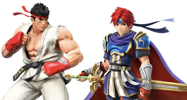 Ryu and Roy confirmed for Super Smash Bros