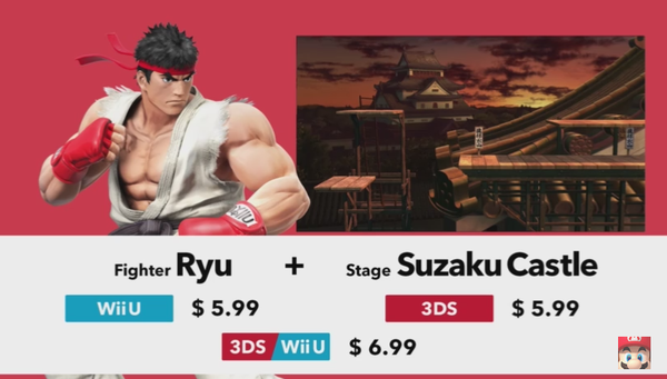 Ryu Wii U Super Smash Bros