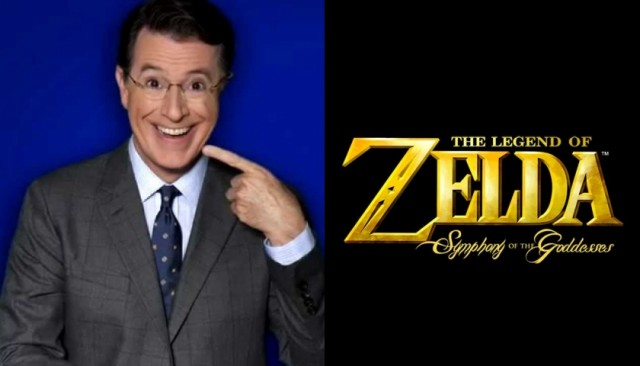 Symphony of the Goddesses on Colbert's Late Show - NintendoToday