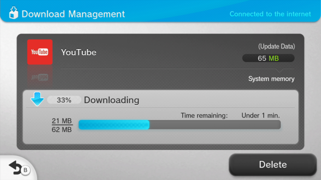 YouTube app on Wii U gets an update - NintendoToday
