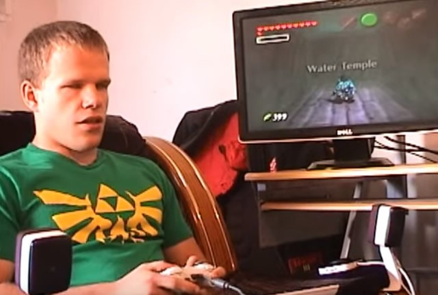 Blind gamer finishes Zelda Ocarina of Time after almost 5 years of trying
