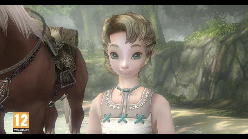 Ilia from The Legend of Zelda - Game Art