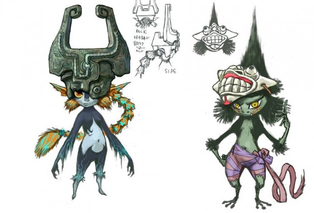 New Concept Art For Midna Revealed On Twitter Nintendotoday