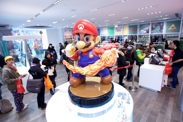 Nintendo reopens its flagship store in new York