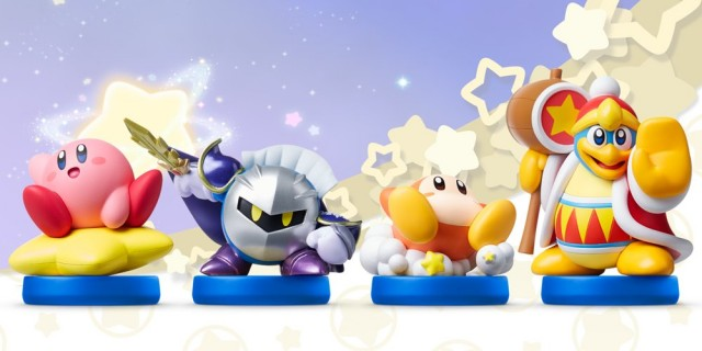 Upcoming Kirby Amiibo line spotted in the wild