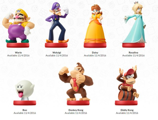 Nintendo reveals new Super Mario Amiibo series