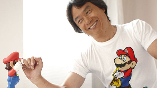 Miyamoto hints at a new Mario in