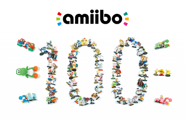 There are now 100 Amiibo available in the US-MR