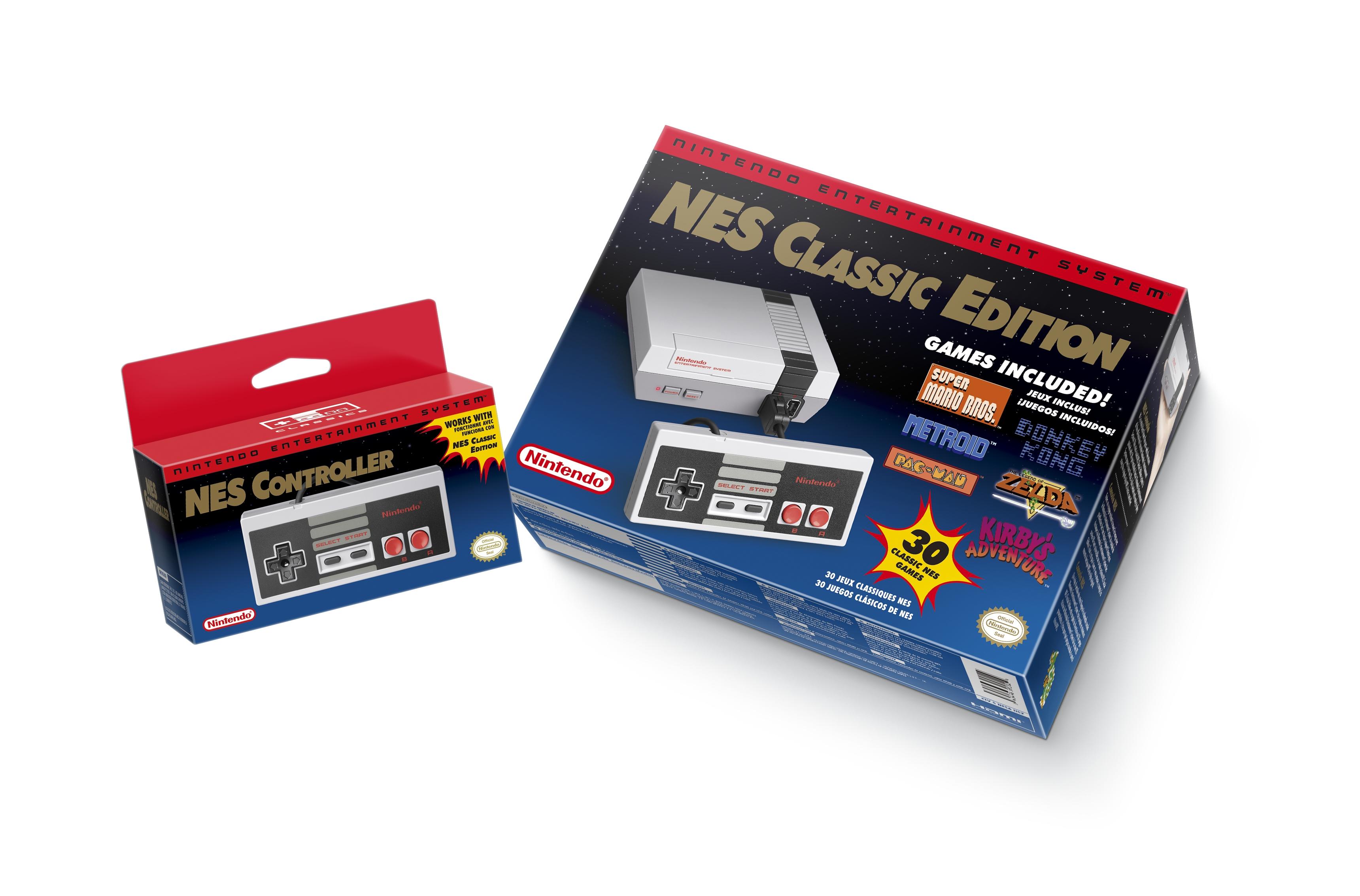NES Mini production