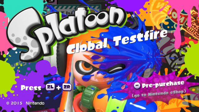 Splatoon multiplayer demo is coming back next week