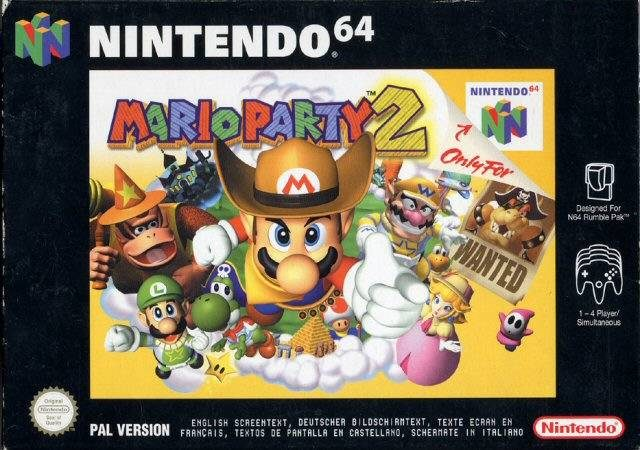Mario Party 2 is now available on Wii U Virtual Console