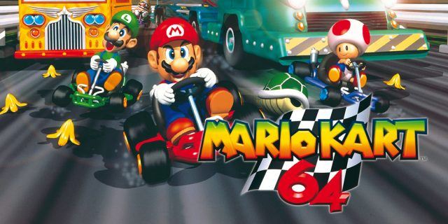 Mario Kart 64 is now available on the Wii U eShop