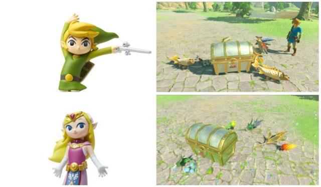 Zelda 30th anniversary amiibo all work in Breath of the Wild