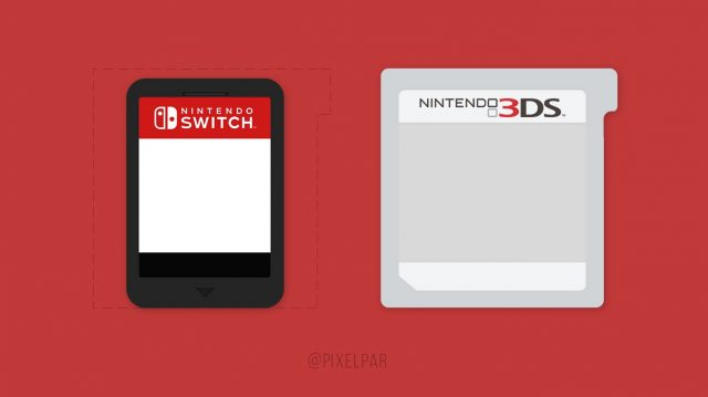 Switch 3ds cartridge