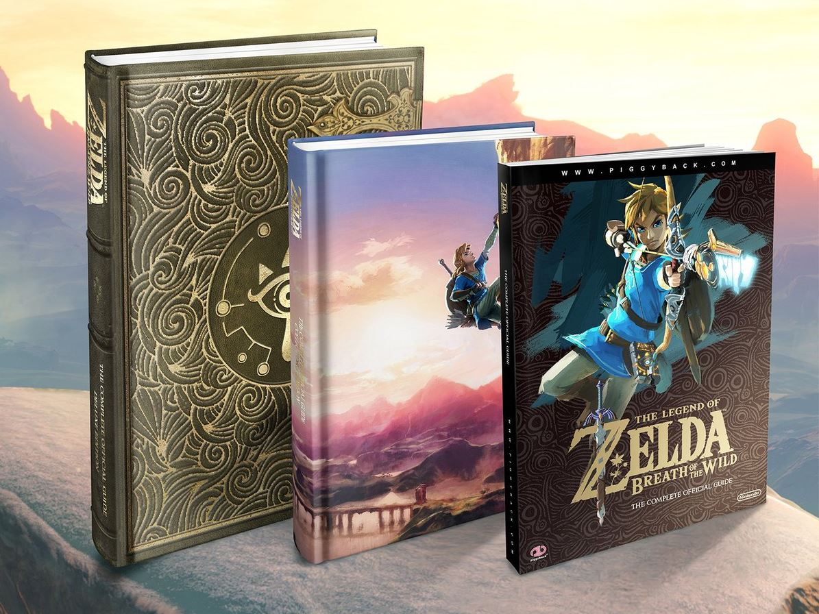 All Zelda: Breath of the Wild game guides are 40% off right now