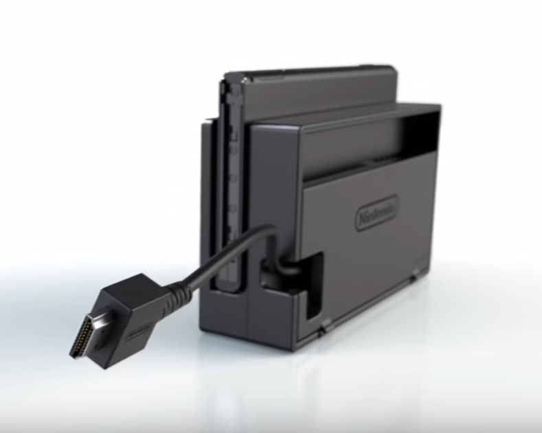 Switch dock back