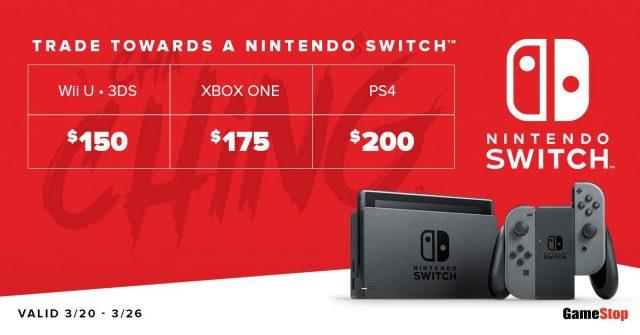 gamestop getting more switch stock on 3 22 nintendotoday. Black Bedroom Furniture Sets. Home Design Ideas