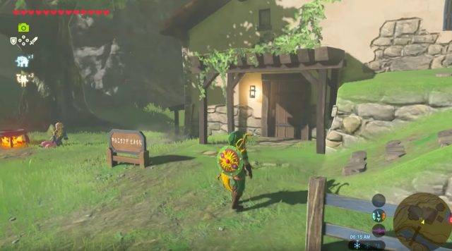how to buy a house in zelda breath of the wild nintendotoday. Black Bedroom Furniture Sets. Home Design Ideas