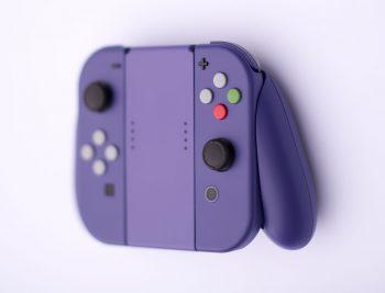 switch-custom-joy-con-8-350x267 Check out this custom GameCube Purple Joy-Con