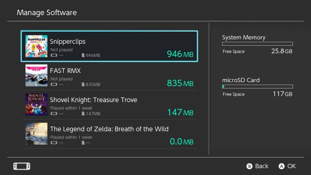 manage-software-switch-640x360 5 improvements we need for the Nintendo Switch eShop