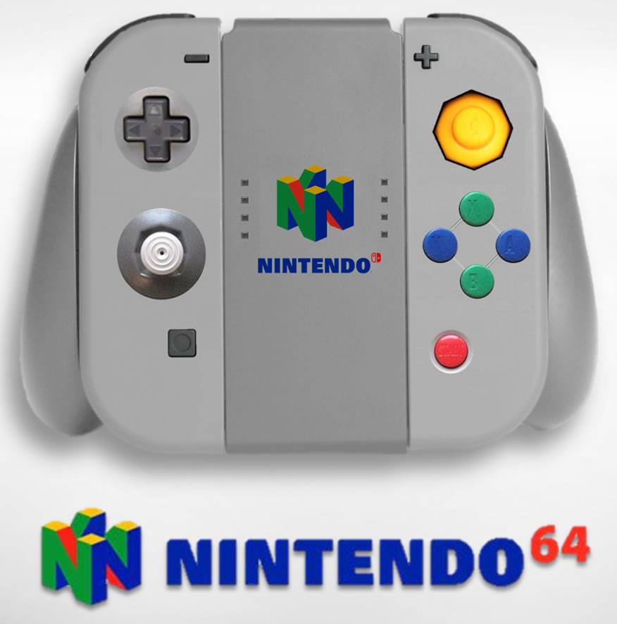 Switch N64 controller concept