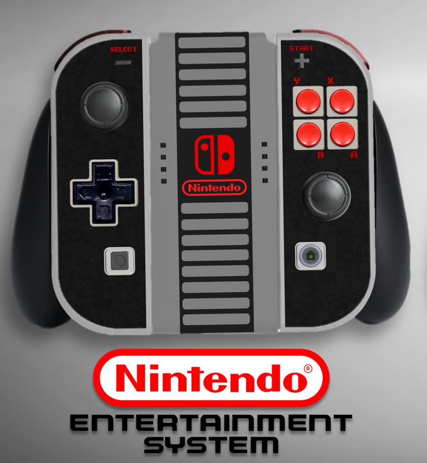 Nintendo Switch Virtual Console controller concepts