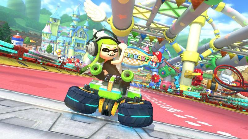"mk8-offensive Mario Kart 8 Deluxe update removes ""offensive gesture"""