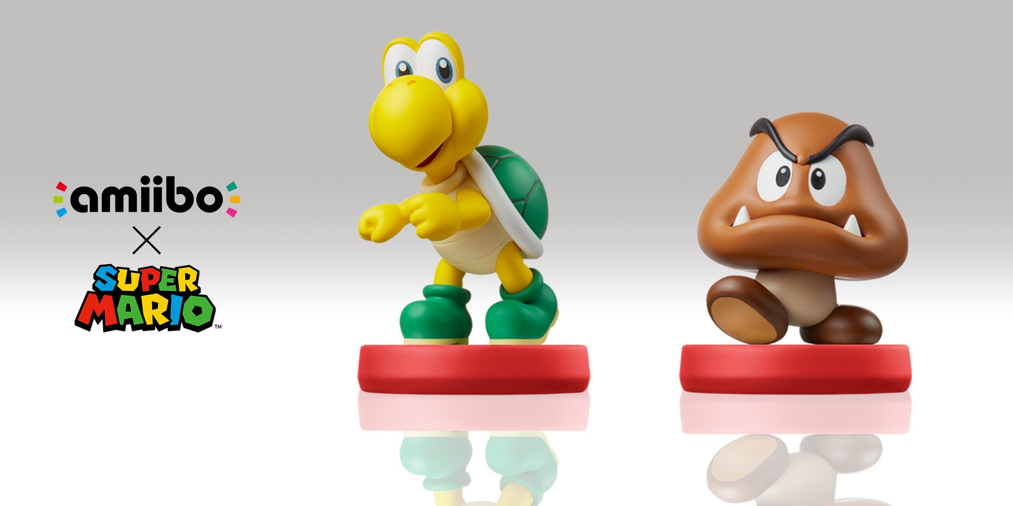 Koopa Troopa and Goomba Amiibo announced
