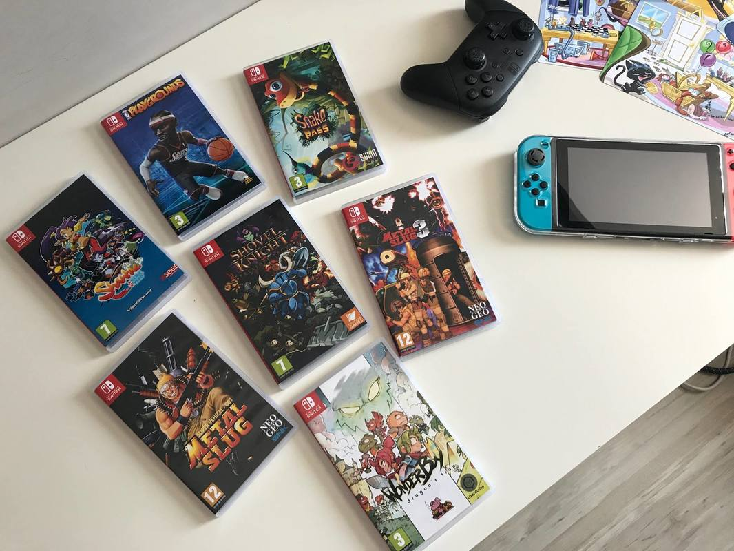 Check out these custom game cases for Switch eShop games