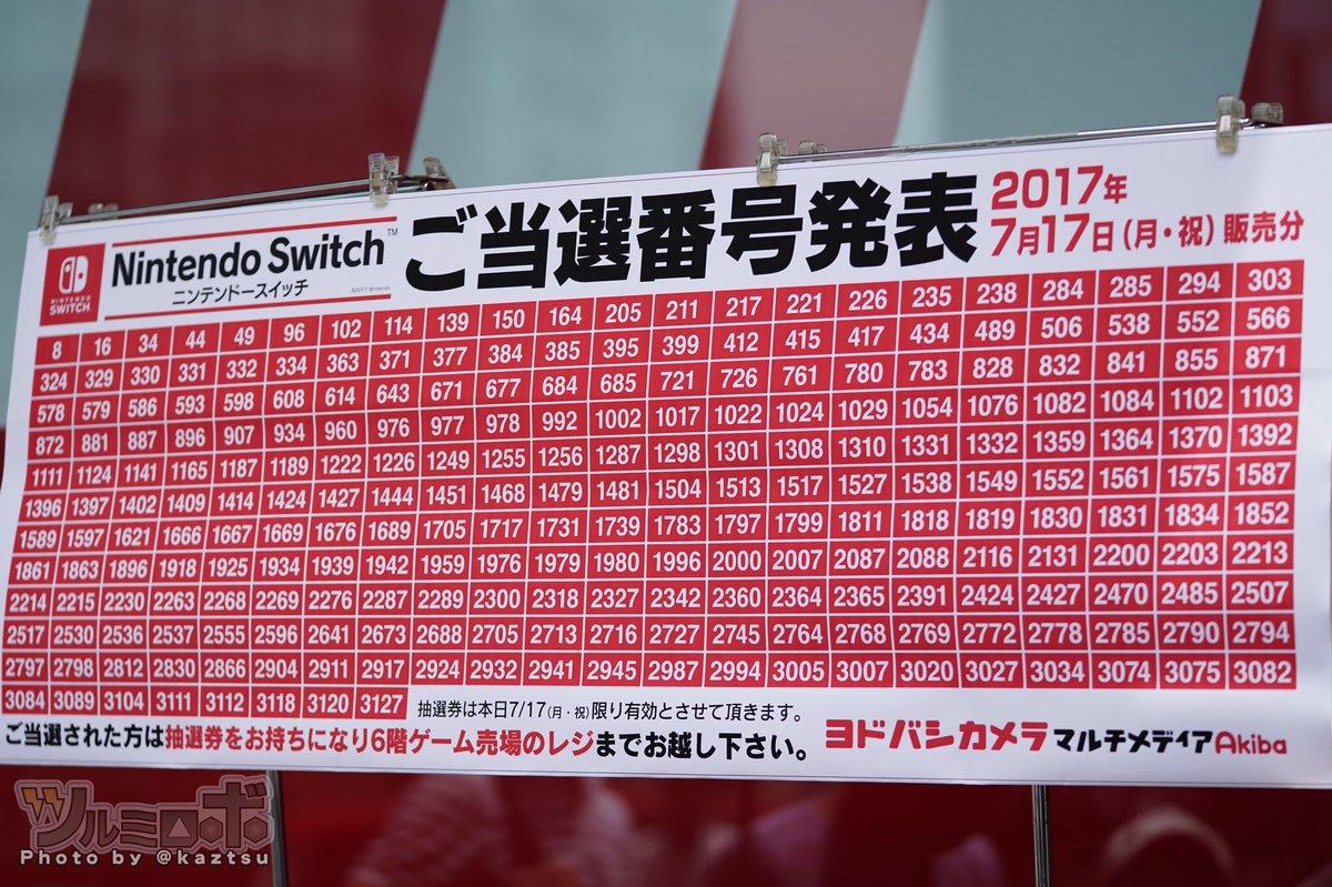 Nintendo Switch Lottery